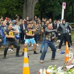 Haka ring out as New Zealand deals with trauma of shootings