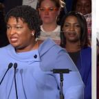 Democrat Stacey Abrams says she cannot win Georgia governor's race, but does not concede