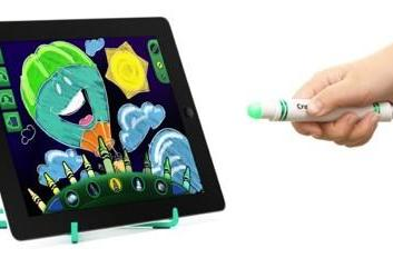CES 2013: Crayola Light Marker for iPad