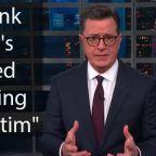 Stephen Colbert slams Donald Trump's tweet blaming wildfires on 'poor' forest management