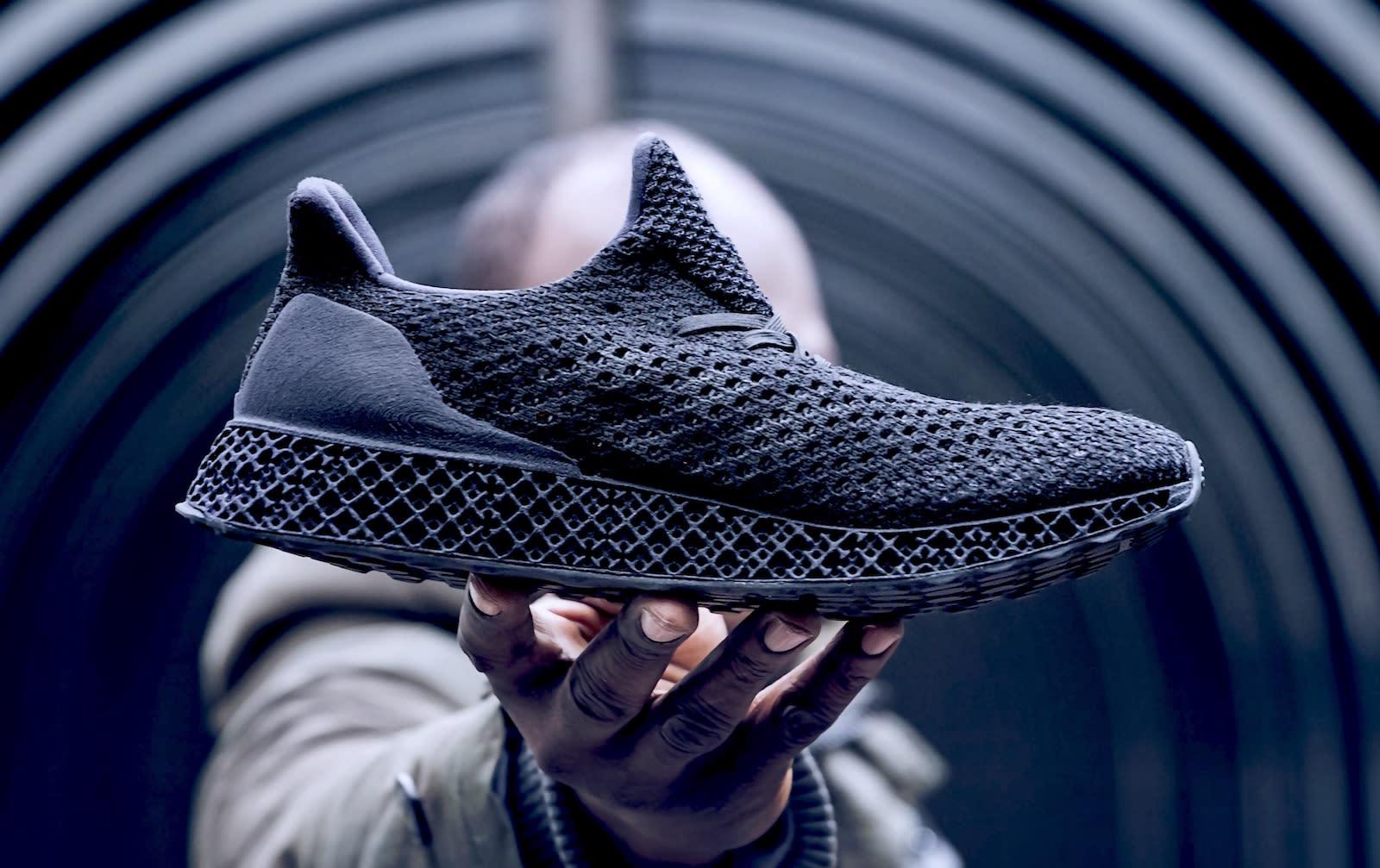 Adidas' latest 3D-printed running shoe