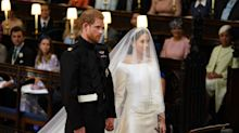 How Meghan 'helped Harry through it': Body language expert on the newlyweds' subtle gestures