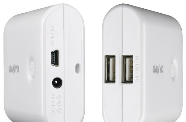 Sanyo Eneloop Mobile Booster provides $79 of USB power-suck