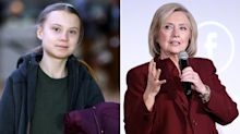 Hillary Clinton Appalled By 'Greta Thunberg' Sticker Linked To Alberta Oilfield Firm