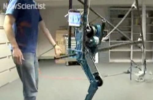 New robot leg design becomes more human, more deadly