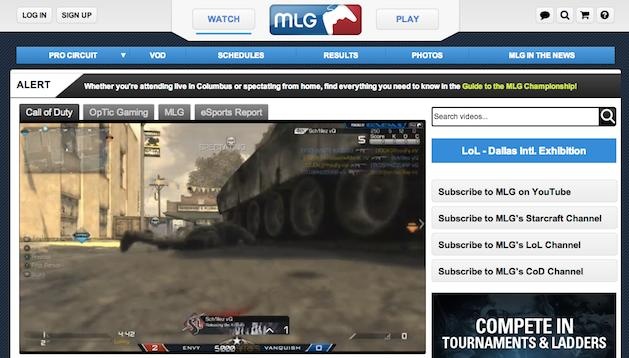 Major League Gaming launches MLG.TV online network to stream e-sports in high definition