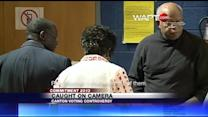 Canton mayor caught on camera helping voter at polls