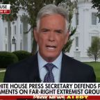 Fox News' John Roberts angrily tells off the White House for its refusal to denounce white supremacy