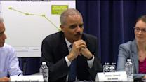 Attorney General Holder Praises Emanuel For Safety Improvements