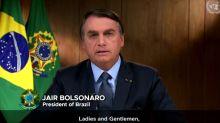 Em discurso na ONU, Bolsonaro diz que pagou auxilio de U$ 1000 para brasileiros