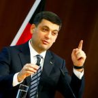 Ukraine prime minister to step down on Wednesday