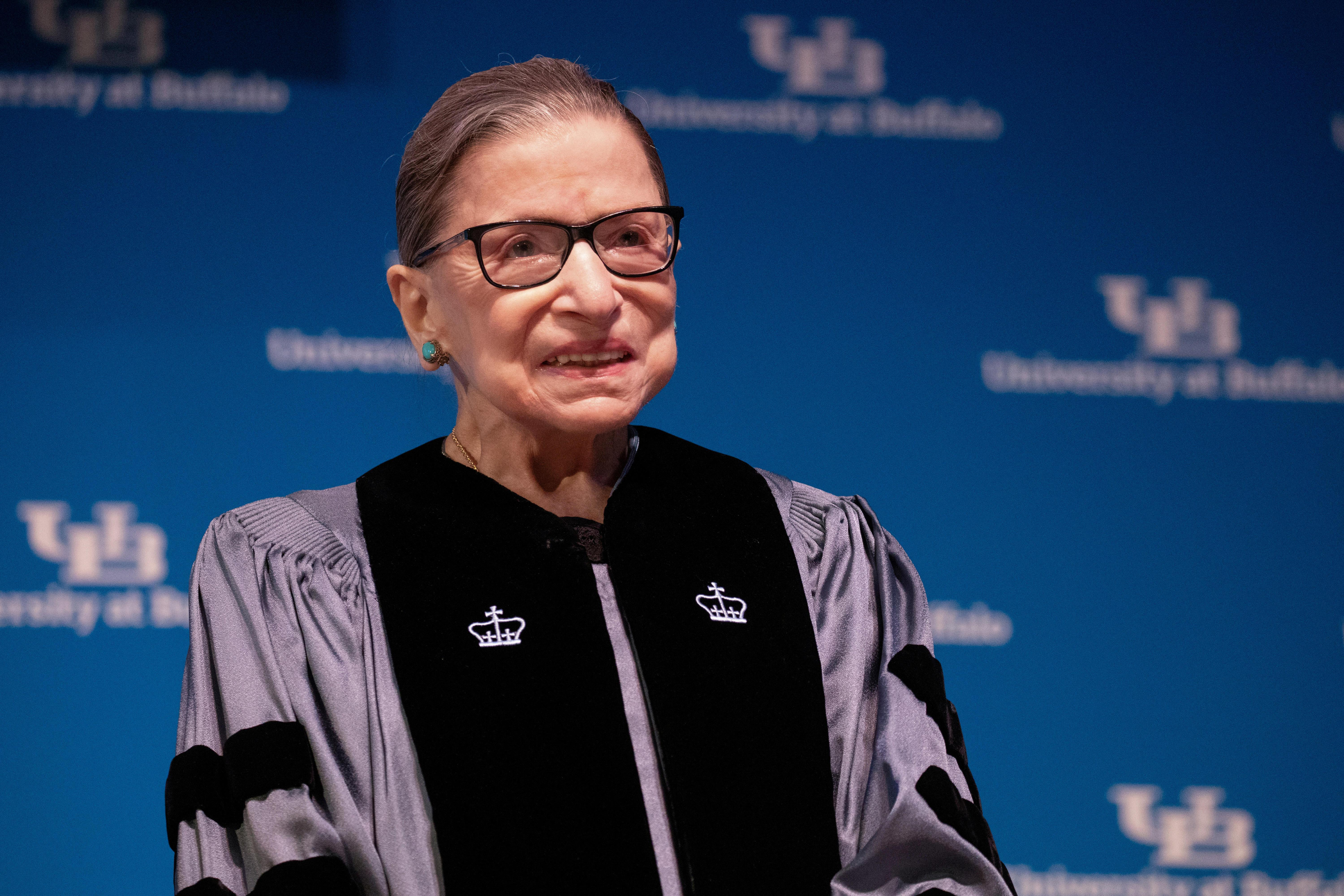 New York landmarks to be lit blue in honor of Ginsburg