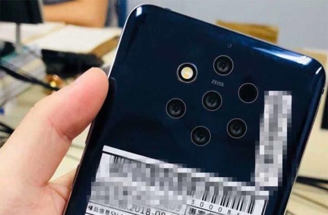 Leaked five-camera Nokia phone has a few lenses too many