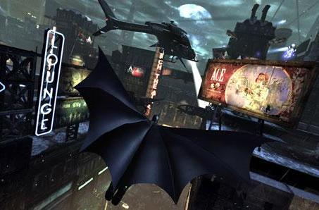 Batman: Arkham City supports 3D whether you have a 3DTV or not