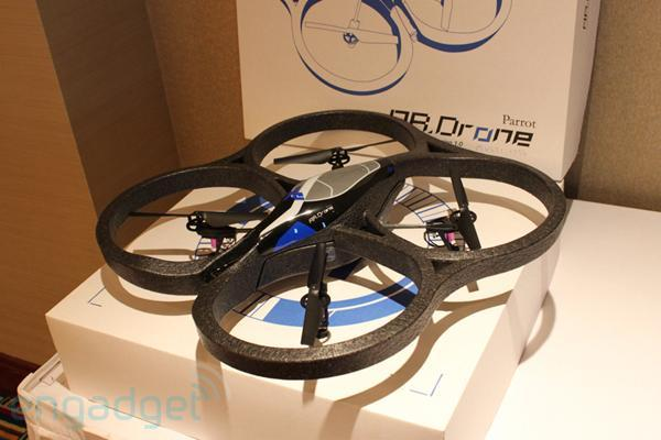 Parrot AR.Drone hands-on: a quadricopter for the rest of us