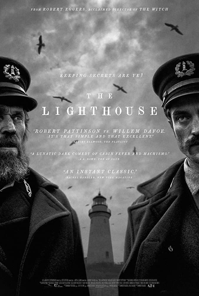 5.《燈塔》The Lighthouse,2019