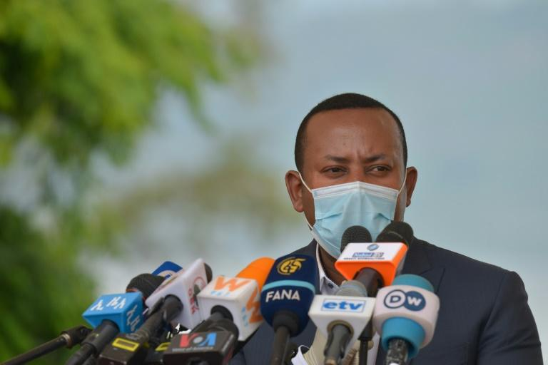Ehiopia's Prime Minister Abiy said opposition groups that benefited from amnesties he has granted are taking up arms