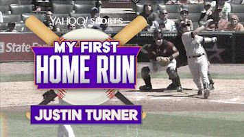 Justin Turner's first dinger came as a surprise