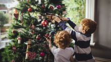 Family's surprising discovery in Christmas tree