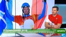 """JO-2018 : médaillé d''or en snowboardcross, Vaultier """"encore sur un nuage"""""""