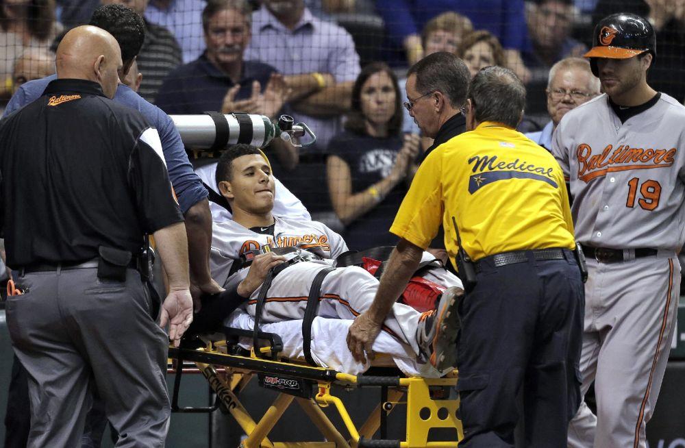 Orioles 3B Machado to have offseason knee surgery