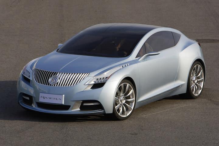 New buick concept car