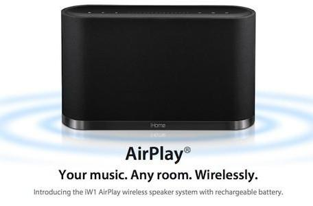 iHome gives further details on AirPlay-ready speakers