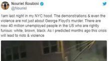 末日博士魯比尼精準預測美國暴動
