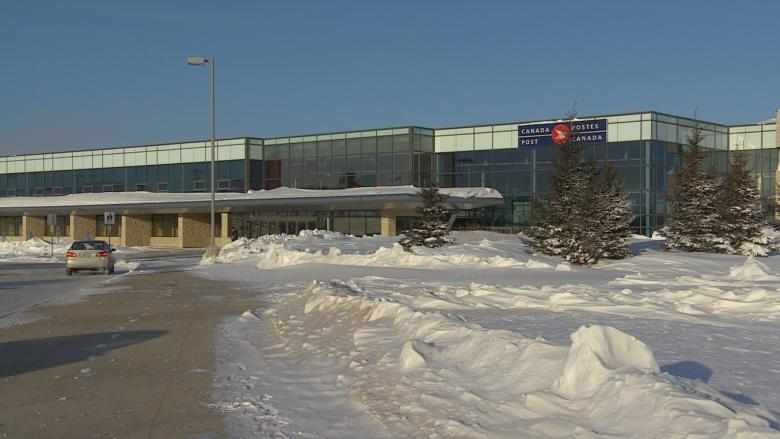 RCMP investigate construction of Canada Post plant