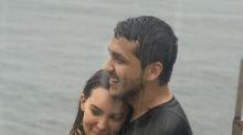 Belinda y Christian Nodal se comen a besos junto al mar, la prueba en un video que derrite a sus fans