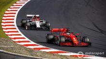 "F1: Dupla da Ferrari lamenta ""corrida comprometida"" em Nurburgring"