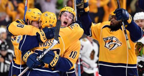 Hockey - NHL - NHL : Nashville et Pittsburgh décrochent leur billet pour le deuxième tour