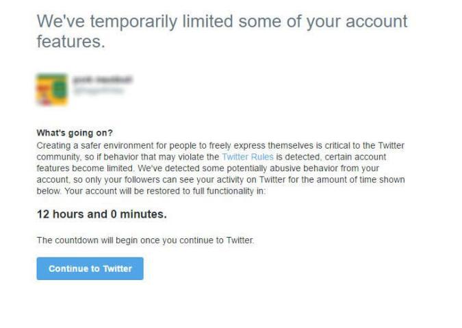 Twitter-Nerver kommen jetzt für 12 Stunden auf die Strafbank
