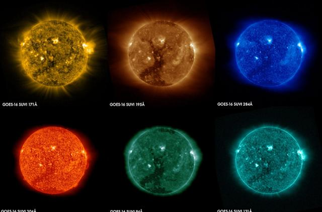 NOAA's GOES-16 weather satellite takes its first solar images