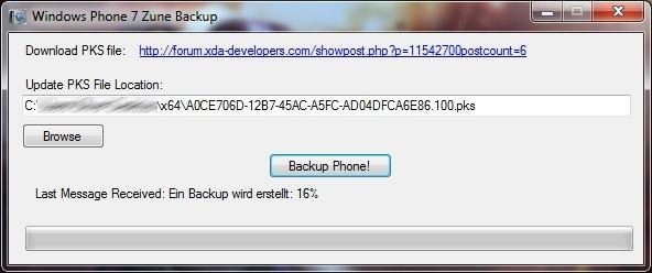 Homebrew utility lets you backup Windows Phone on your terms