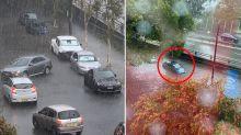 'Cars swimming in Bondi' as Sydney cops peak-hour drenching