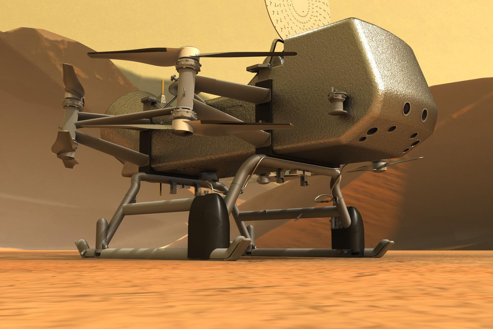NASA delays its Titan drone mission by another year – Yahoo News Australia