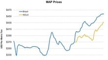 MAP Prices Were Mixed in the Week Ending September 28