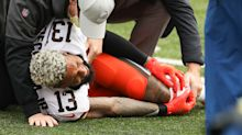 Browns' Odell Beckham Jr. has torn ACL, ending his season