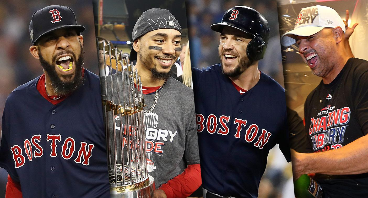 9cba717afb0 Red Sox join pantheon of game s great teams