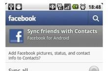 Google disables contact sync in Facebook for Android, but only Nexus S for now