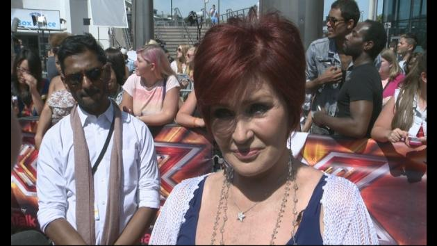 X Factor 2013: Sharon Osbourne at London auditions