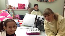 Taylor Swift Surprises Hospitalized Girl, 8, Whose Severe Burn Injuries Will Keep Her from Concert