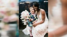 Toddler thought bride was the real-life 'princess' from her 'favorite book'