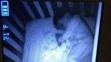 Grusel-Post: Liegt da ein Geister-Baby im Kinderbett?