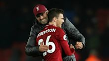 'My dad never saw me as a manager' - Liverpool's Klopp and Robertson open up on mental health