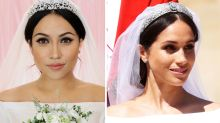 Makeup artist transforms herself into Meghan Markle