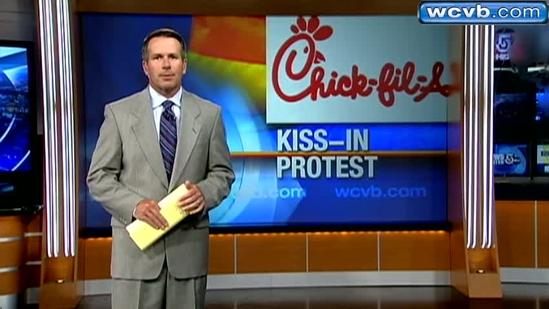 Mall adds security for Chick-fil-A kiss protest
