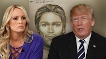 Trump calls sketch released by Stormy Daniels a 'total con job'