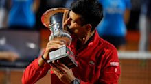 Women's Italian Open champion Simona Halep left shortchanged by men's champion Novak Djokovic... by €10